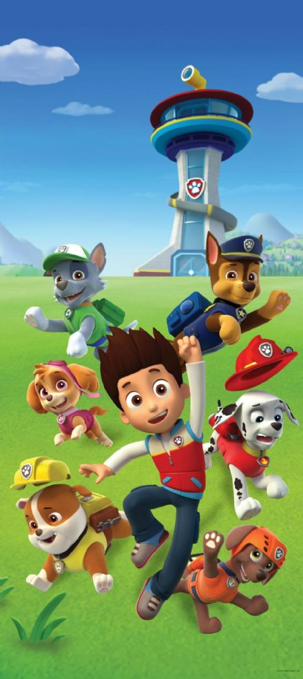 Paw Patrol wall mural wallpaper 90x202cm